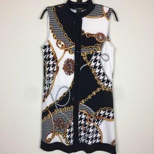 Eva Varro equestrian Style Snap Tunic